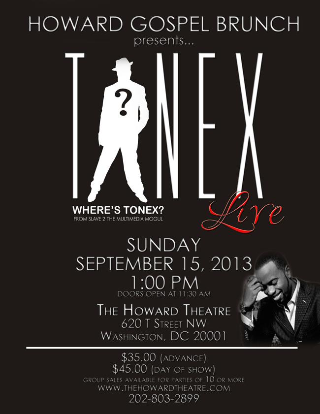 tonex gospel concert